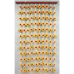 Cortina girasoles