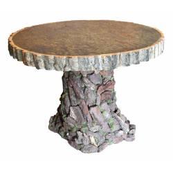 Mesa redonda de corteza
