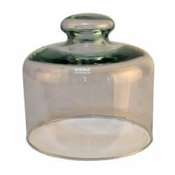 Quesera vidrio sin plato 4003-1