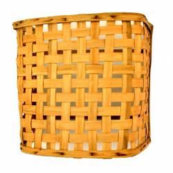 Aplique madera de castaño