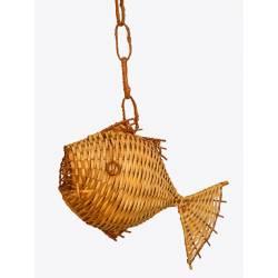 Lámpara pez con instalación