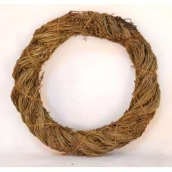 Corona de lavanda y cuerda