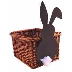 Macetero con conejo
