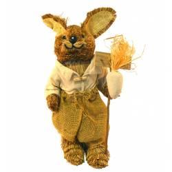 Conejo paja vestido saco