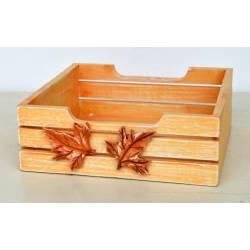 Servilletero madera