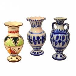 Jarrón cerámica (Diseños diferentes)