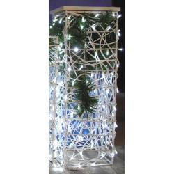 "Columna decorada ""luz led"""