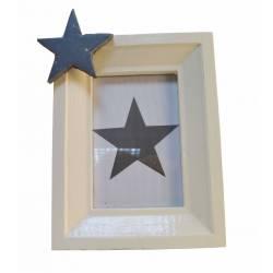Portafotos con estrella