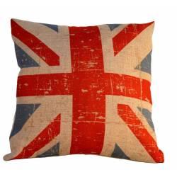 """Cojín bandera inglesa """"sin relleno"""""""