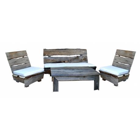 Conjunto muebles madera