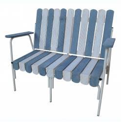 Sofa madera e hierro