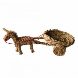 Carrito anea con burro
