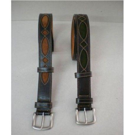 Cinturón Cuero Calado Clásico