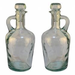 Set de 2 vinagreras vidrio (4042-4)