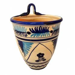 Maceta de colgar cerámica