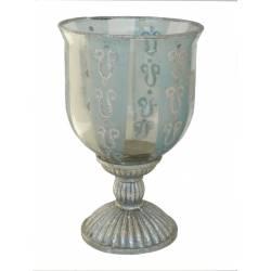 Copa-Candelabro vidrio