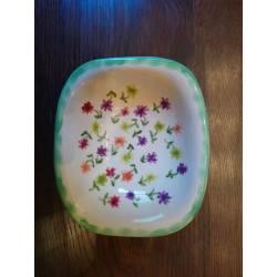 Bandeja ceramica artesanal de Flores