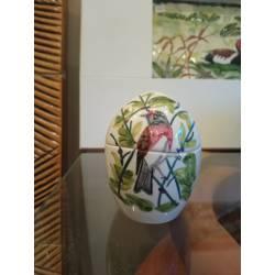 Caja huevo ceramica artesanal