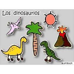 Monigotes Los Dinosaurios