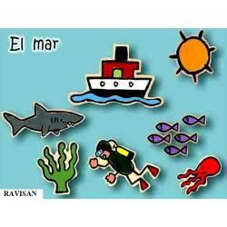 Monigotes El Mar