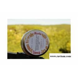 Cera de Soja Aceite Ruda tarro 212 ml.