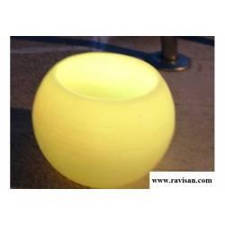 Fanal Esfera 20cm led 9 colores con mando