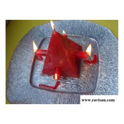 Piramide 5 mechas 10x13 ! efecto Poom !