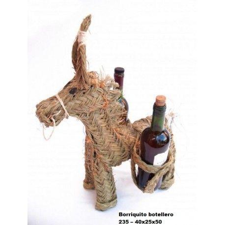 Borriquito botellero esparto