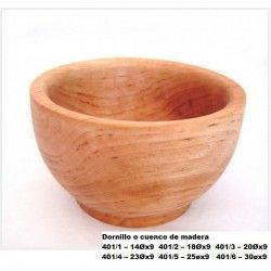 Dornillo o cuenco de madera