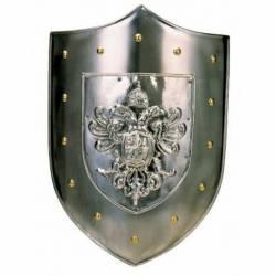 Escudo medieval Marto aguila bicefala 960