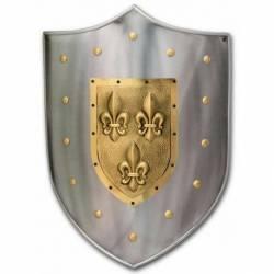 Escudo Medieval Flor de Lis 963.3
