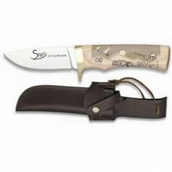 Cuchillo madera blanca