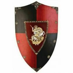 871 Escudo de madera Principe Negro