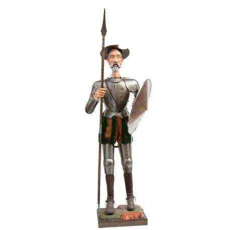 Armadura tamaño natural Quijote de pie