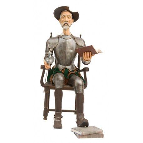 Armadura tamaño natural Quijote sentado