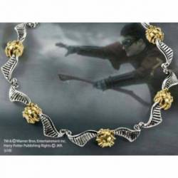 Pulsera snitch dorada oro y plata