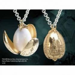 7533 Colgante huevo de oro chapado en oro