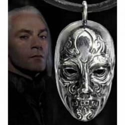 Colgante mascara de plata de Lucius Malfoy