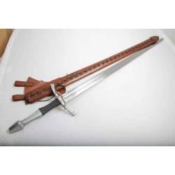 E3424 Espada medieval funcional de mano y media
