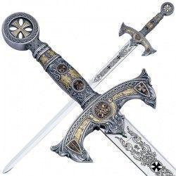 Espada Templarios Plata