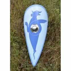 1116396900 Escudo de lagrima normando azul