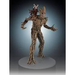 GENT80409 Figura 54 cm Groot y Rocket Los Guardianes de la Galaxia