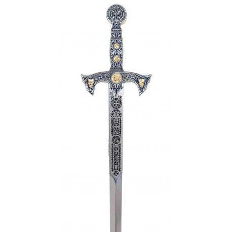 Espada Templaria Plata