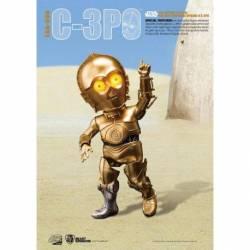 BKDEAA-008 Figura C3PO 15 cm con luz Star Wars