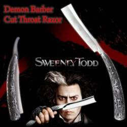 40435 Navaja de Afeitar del Barbero diabolico Sweeney Todd