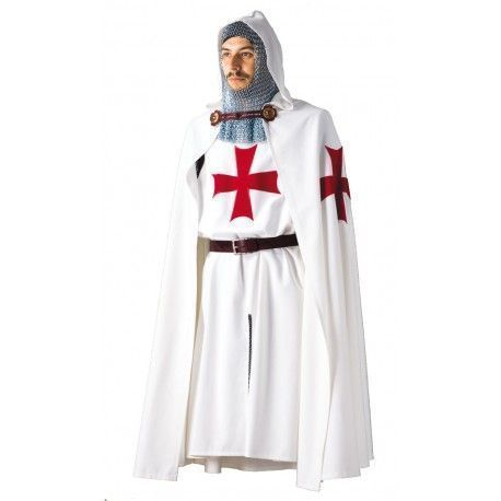 Traje Caballero Templario