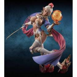MEHO71531 Bikini Warriors Estatua Dark Elf DX 24 cm