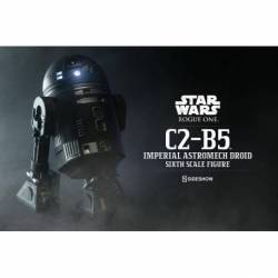SS100417 Figura Droide Imperial C2-B5 Star Wars Rogue One, Sideshow