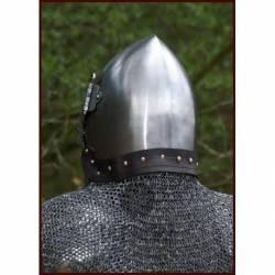 BMSZ-AV Protector de cuello de cota de malla para anadir al casco