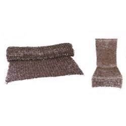 ULF-RM-SK Falda de cota de malla remachada y perforada